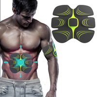 Electric Abdominal Muscle Trainer Massage Health Care Men Fitness Equipment Waist Device Slimming Muscles Exercise Tool