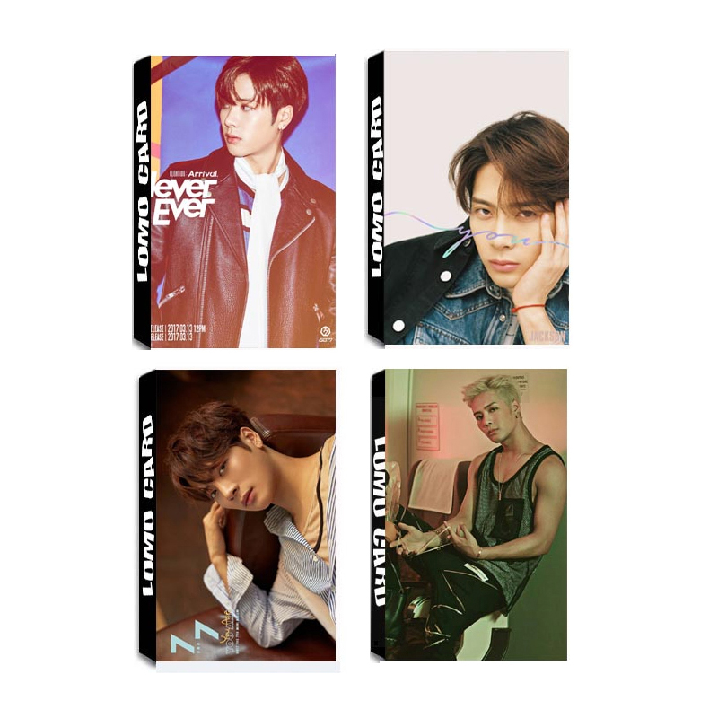 Popular Brand Kpop Got7 Eyes On You Album Lomo Cards Self Made Paper Photo Card Photocard Lk545 High Quality Goods Beads & Jewelry Making