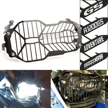 For BMW R1200GS/R1200 GS LC 2013-2018 R 1200 GS LC ADV 2014-18 Motorcycle Headlight Head Light Lamp Protector Grill Guard Cover motorcycle accessories headlight guard protector bracket for bmw r1200gs r1200 gs r 1200 gs lc adv adventure 2013 2014 2015 2016