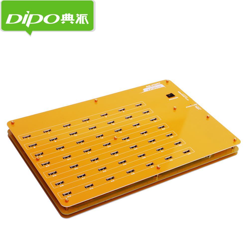 DIPO 2 4 7 10 16 19 20 49 Port USB-Hub USB 2.0 Hub-Ports für - Computer-Peripheriegeräte - Foto 2