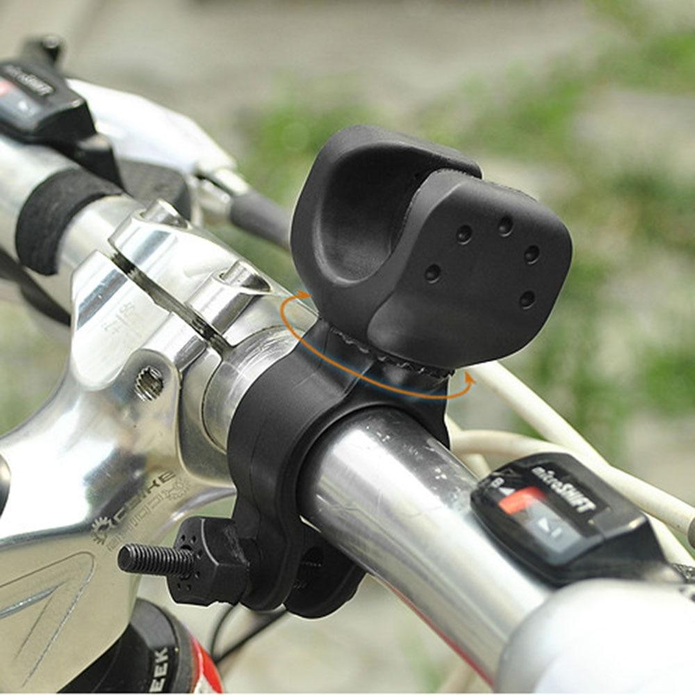 1x New Bike Bicycle Universal Flashlight Torch Lamp Light Mount Clip Holder