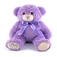 Lavender Bear Christmas gifts romantic spot in Australia genuine microwave heating plush toy dolls