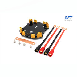 EFT E410 Rack Distribution Board High Current V4 Distributing Module w/ AS150 Plugs For DIY Agriculture Plant Protection Drone
