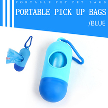 Pet Dog Poop Bag Dispenser Waste Bags Biodegradable Puppy Random Color Products