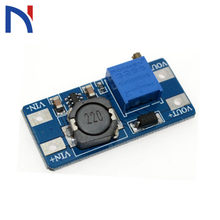 DC-DC Step Up convertidor MT3608 Booster módulo de fuente de alimentación Boost Step-up Board salida máxima 28V 2A para arduino Step Up ajustable(China)