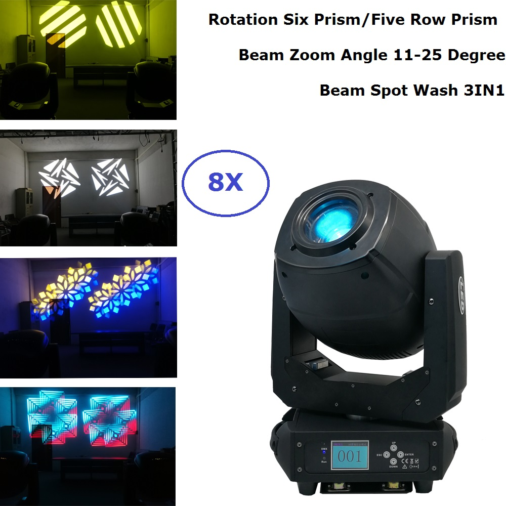 Beam Spot Wash 3IN1 Moving Heads LED 230W Gobo LED Moving Head Lights With Zoom Function For Stage Theater Disco Nightclub Party цены