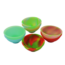 30pcs silicone wax bowls mini pinch heat-resistant oil slick dab jars weed herbs spices salt and pepper whilst cooking container все цены