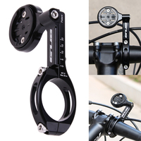 Adjustable Bicycle Telescopic Computer Mount for Mobile Phone Adapter Bracket for 31.8mm/25.4mm Bike Handlebar Computer Support