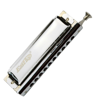 Easttop 10 Hole 40 Tone Chromatic Harmonica ABS Comb Armonica Cromatica Mouth Ogans Musical Instrument Professional