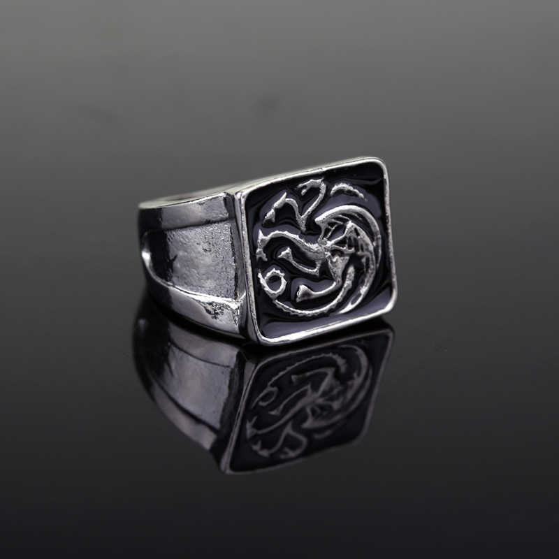 wholesale Game of Thrones Targaryen Dragon Ring House
