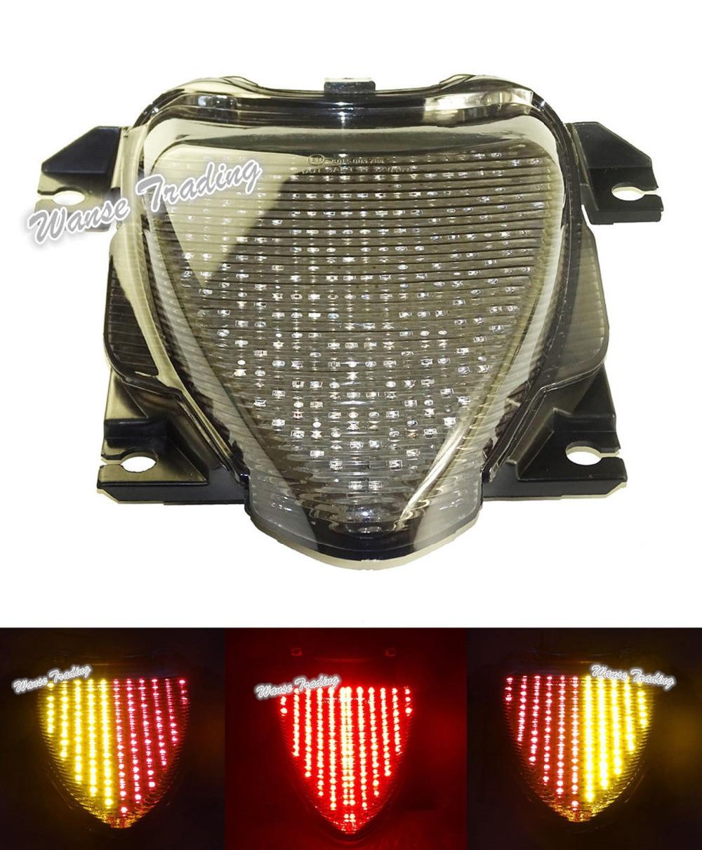 For suzuki boulevard m109r vzr1800 m1800r 2006 2007 2008 2015 e mark rear tail light brake turn signals integrated led light