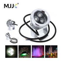 12V LED Underwater Light Waterproof IP68 Submersible Lamp for Boats Swimming Pools Outdoor Garden Fountains Landscape Lighting