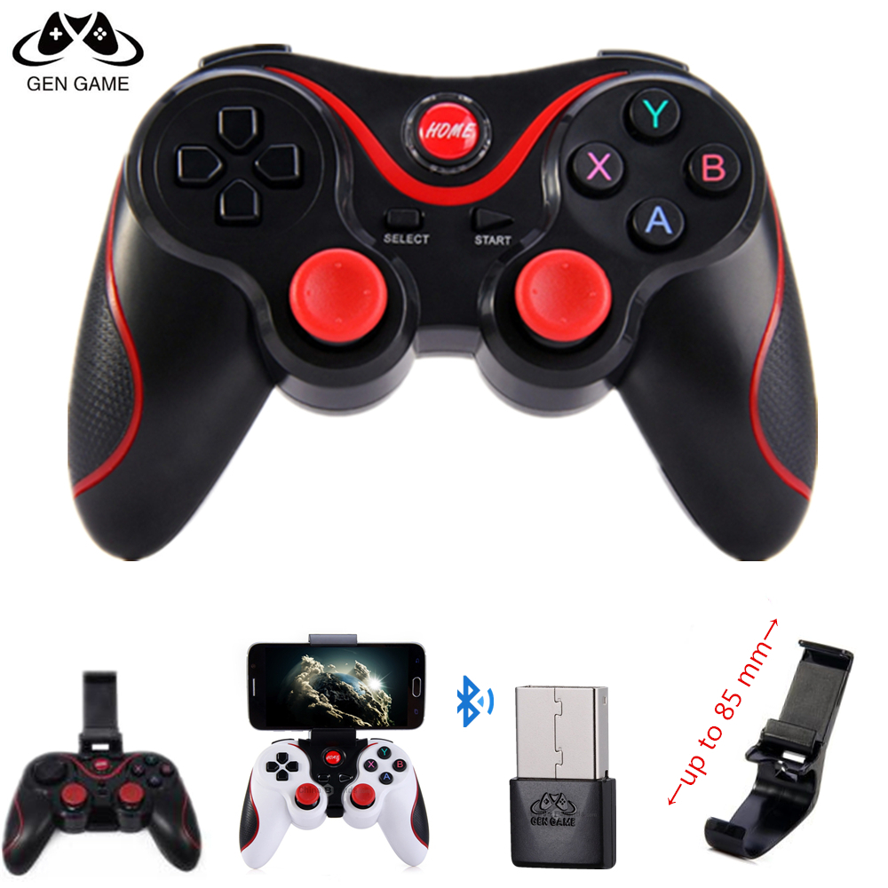 Gen Game X3 Game Controller Smart Wireless Joystick Bluetooth Android Gamepad Gaming Remote Control T3 Phone for PC Phone Tablet gen game s3 wireless bluetooth controller gamepad black