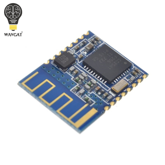 US $3 83 |WAVGAT Latest Bluetooth 4 0 BLE TI CC2540 module low power HM 11  bluetooth serial port module fit for IOS 8-in Integrated Circuits from
