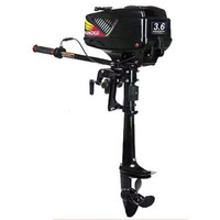 HANGKAI outboard 3.6HP FOR rubber boat inflatable boat FISHING BOAT OR YACHT