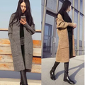 2015 New Women Long Cardigans Autumn Winter Jacket Coat Casual Knitted Oversized Sweaters Cardigan Warm Outwear WKS0020