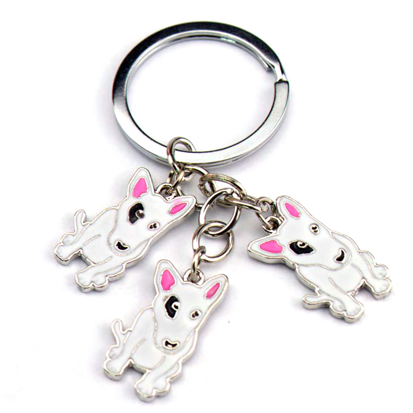 The most worth having pets.all sorts of classic.Factory direct sales.quality assurance 2015NE Bull Terrier  PET Key chain