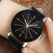 Chasy 2018 Hot Sale New fashion Korean Geneva Lovers casual quartz watch Black leather Black White Dial Sport Watch Montres swatch watch skin series fashion black and white quartz watch syxs100