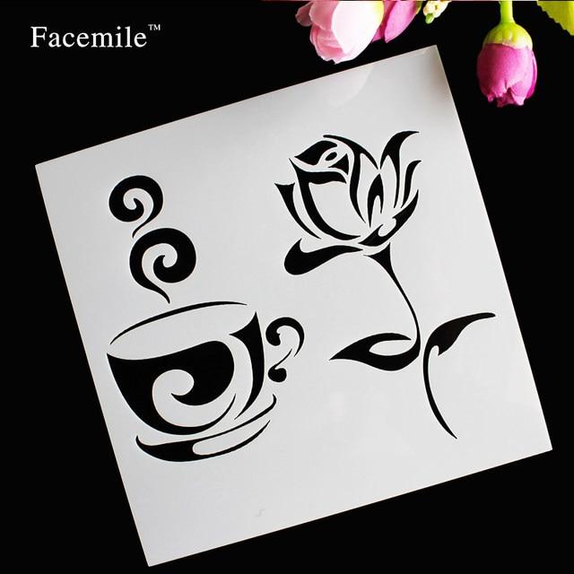 Tienda Online Regalo facemile Rose flor taza de café plástico ...