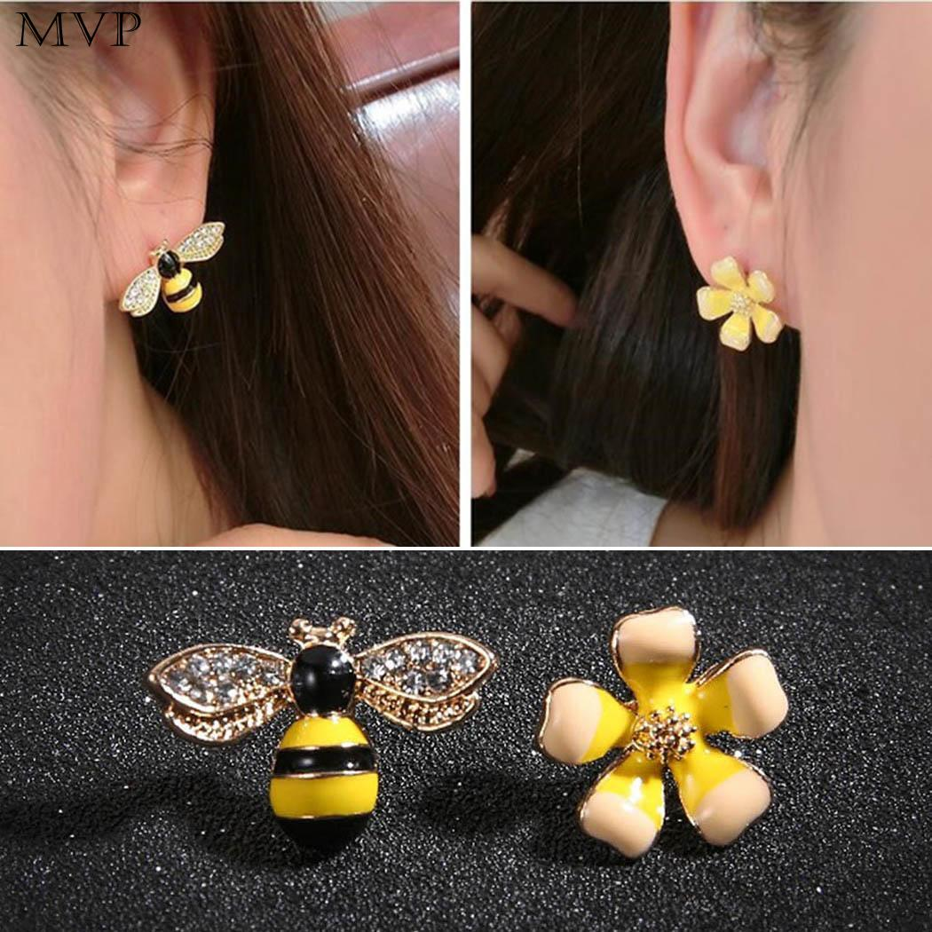 Women New Fashion Earrings Jewelry Trendy Cartoon Shape Charm Wedding Gift