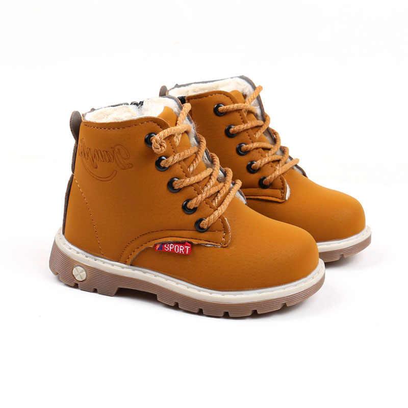 Davidyue ילד שלג מגפי נעלי בנות בני מגפי אופנה רך תחתון תינוק בנות אתחול טניס סתיו חורף ילד מגפיים נעל