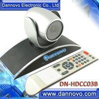 DANNOVO Câmera Grande Angular HD Webconferencing USB PTZ, Zoom Óptico 3x, suporte Skype, MSN, Lync, Semelhante ao Da Polycom Eagleeye