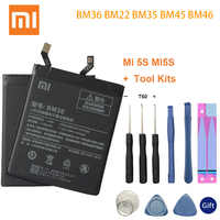 BM36 BM22 BM35 BM45 BM46 Batterie pour Xiao mi 4C mi 5S mi 5 4C 5S mi 5 rouge mi Note 2 3 Pro Batterie de remplacement outils gratuits