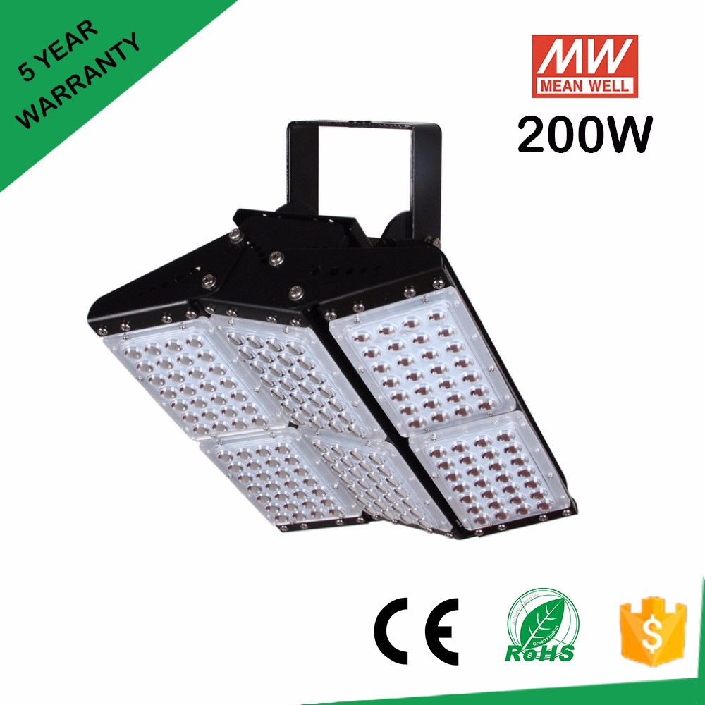 New LED Floodlight COB 200W 300W 400W 500W Reflector Flood Lighting Spotlight AC 85-265V Waterproof Outdoor Gargen Wall Lamp 8pcs lot ultrathin led flood light 200w led floodlight new type grey shell ac85 265v led spotlight outdoor lighting dhl free