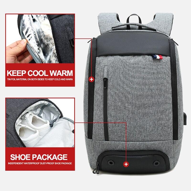 Hommes femmes voyage en plein air grand sac à dos sac pour pique-nique Camping garder nourriture boisson froid chaud étanche sacs mâle femme sac à dos
