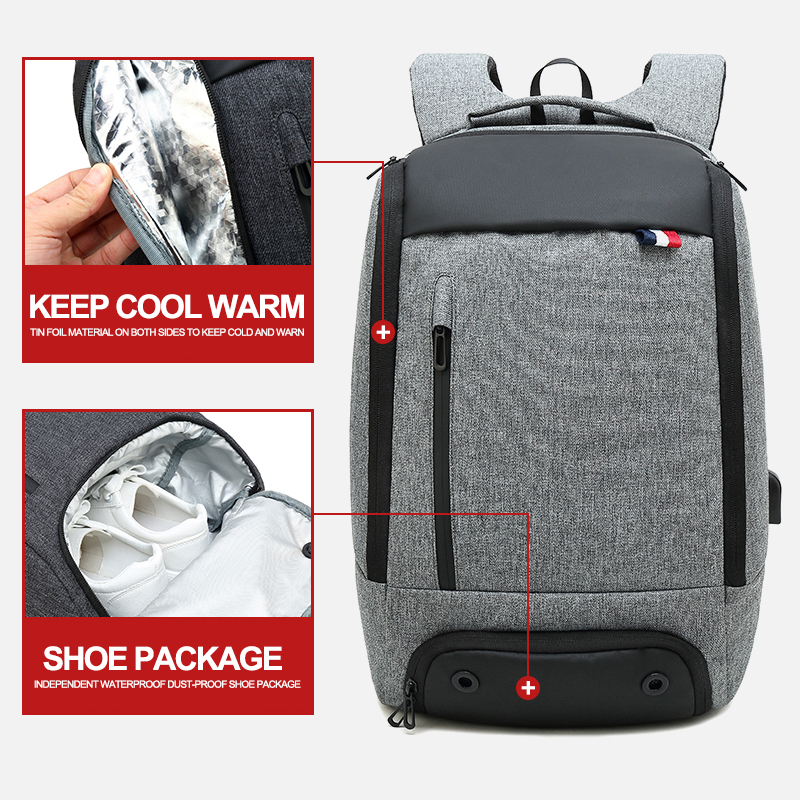 Men Women Travel Outdoor Large Backpack Bag For Picnic Camping Keep Food Drink Cold Warm Waterproof Bags Male Female Backpack