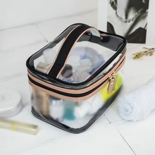Makeup Package Small Transparent Pvc Portable Laser Cosmetic Bags Female Wash Bag Waterproof Cosmetics Travel Bath Pack Packet