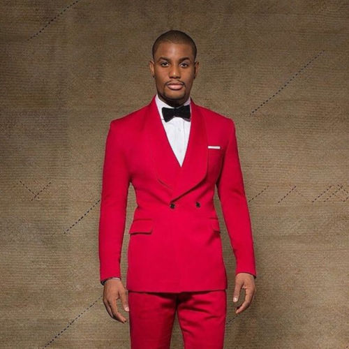 Latest Coat Pant Designs 2018 Shawl Collar 3 Pieces Mens Royal Blue Suit Slim Fit Wedding