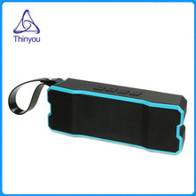 Thinyou Waterproof Bicycle wireless mini bluetooth speaker high quality portable Subwoofer sound bar mp3 player for Phone PC