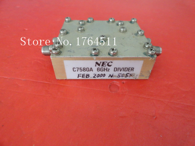 [BELLA] C7580A DC-6GHz A Two Supply Power Divider SMA