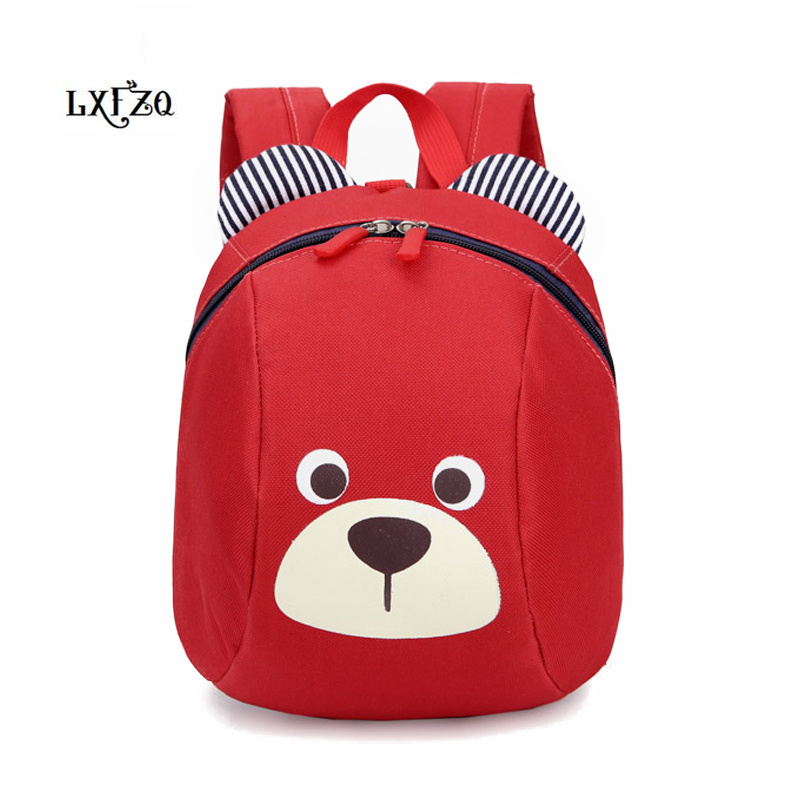LXFZQ Backpack Mochila Baby-Bags School-Bag Anti-Lost Children's New Cute