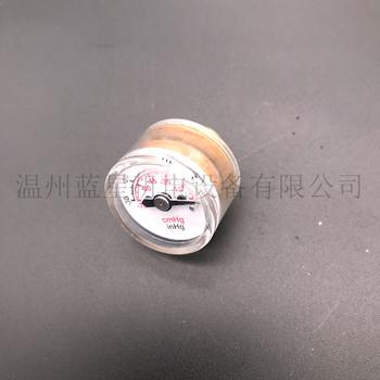 Wysokiej jakości 25MM osiowy-30inhg ~ 0 miniaturowy wakuometr miniaturowe próżniowe ujemne ciśnienie gauge ujemne ciśnienie wakuometr tanie i dobre opinie WZVAC Zawory