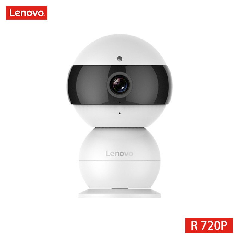 LENOVO Snowman IP Camera WiFi Wireless Mini HD 720P Security Camera Baby Monitor PTZ Surveillance Camera
