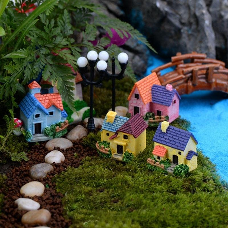 Miniature model home supplies