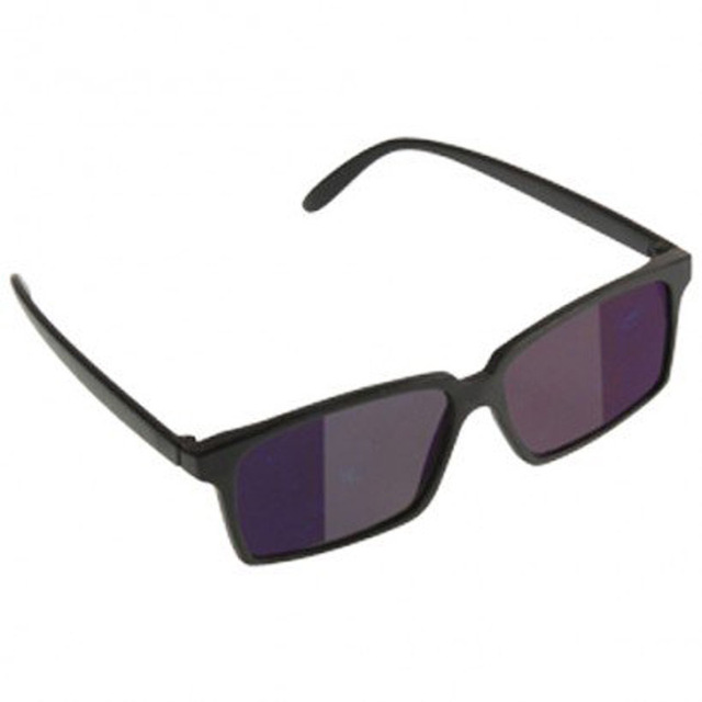 HOT Fashion Sunglasses Personal Security Monitor Anti-Tracking Rear View Mirror Glasses Look Back Sunglass Behind Vision Eyewear