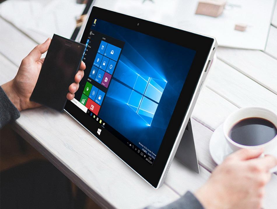 Jumper EZpad 5SE tablet PC 10.6\'\' Windows 10 IPS 1920 x1080 Intel Cherry Trail Z8300 4GB 64GB HDMI BT WiFi windows tablet laptop (9)