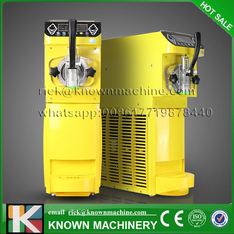 5% discount 35kg soft small ice cream maker/making machine 1 flavor with black,yellow two colors free shipping to door5% discount 35kg soft small ice cream maker/making machine 1 flavor with black,yellow two colors free shipping to door