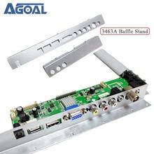 Cho 3663 3463A LCD Tivi LED Driver Ban Vách Ngăn Sắt Kim Loại Đen Pvc Nhựa Vách Ngăn Đứng Cho Màn Hình LCD Điều Khiển Ban v59A8