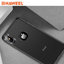 Haweel TOTUDESIGN Frosted TPU Case for iPhone XS Max 6.5 inch