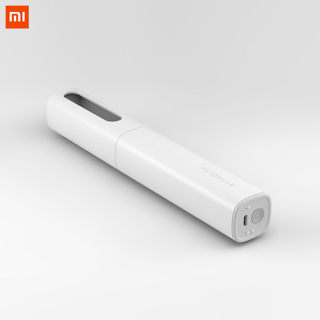 Xiaomi Patoneer 253.7nm Uv Sterilization Pen Rechargeable Dry Heat Air Clean Ultraviolet Sterilizer For Pet Cat Hunting Dog