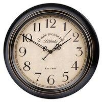 Большой современный дизайн настенные часы Стикеры механизм настенные часы потертый шик, декор друзья Tv Мэри Поппинс Saat часы 50B2