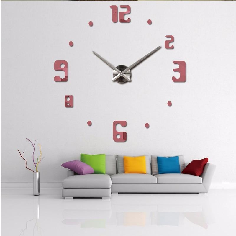 buy masi rui big wall clock living room quartz metal modern design decorative designer 3d diy wall watch clocks free shipping from