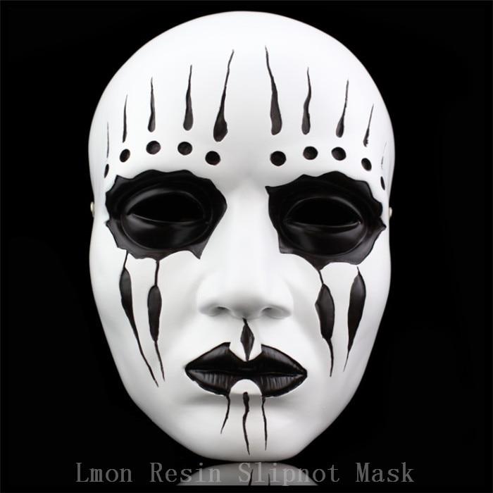 100 Resin Gmask Slipknot Joey Cosplay Mask Scary Mask White