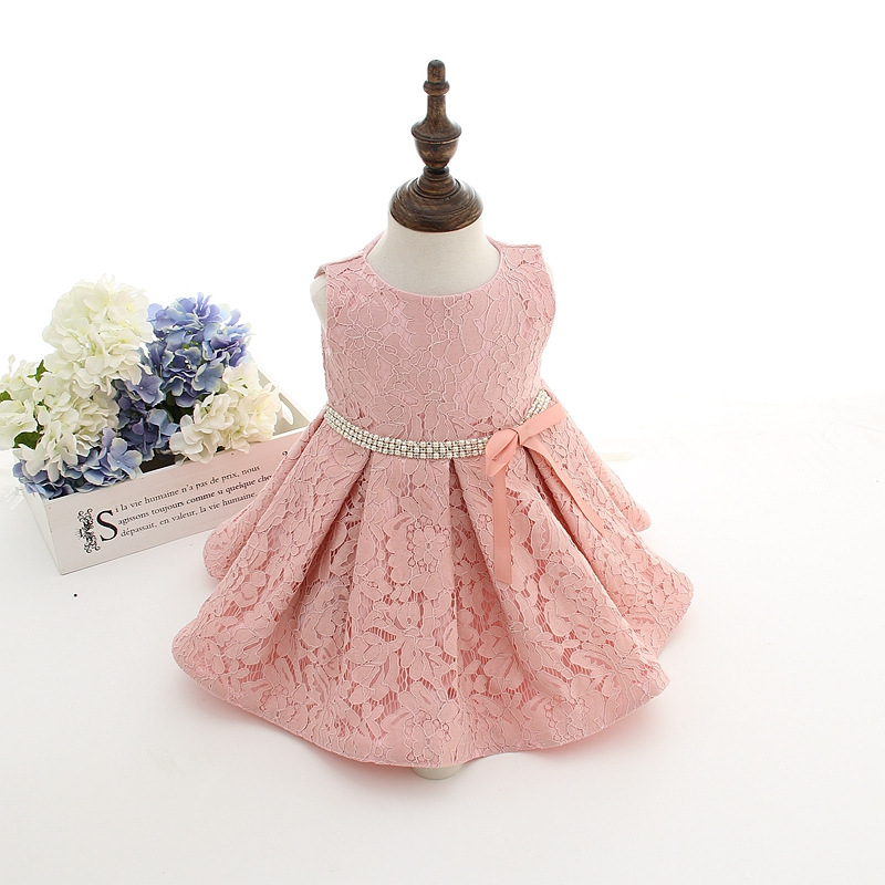 Dress for Christmas Newborn-Baby-Girl-Christening-Gowns-White-Lace-Baptism-Dress-1-Year-Birthday-Bling-Dresses-Party-Princess