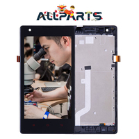 3G Verison 100 Original 1280x720 Display For XIAOMI Redmi 1S LCD Touch Screen With Metal Frame