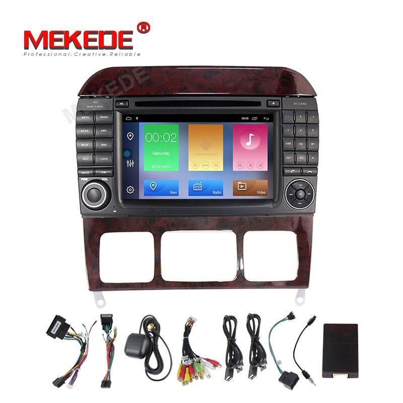 Android 9.1 for Mercedes/Benz/S280/S320/S350/S400/S500/W220/W215/C S Class Car multmedia DVD Player Radio GPS Navigation stereo